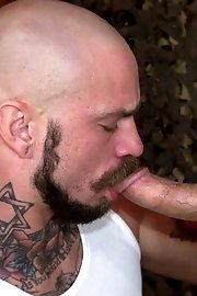 Dylan Hyde and his fuckbuddies ram their mouths over dicks