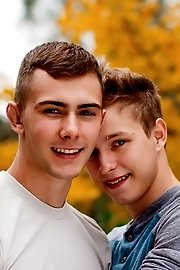 Adorably shy youngster-Noah White and Kody Knight