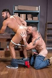 Cute gay boy is horny - Sergeant Miles and Seth Santoro