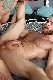 Jerking games on the sofa - Zane and Peter Marcus