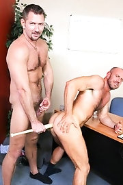 Two absolutely shaved nude gay boys - Matt Stevens, Andrew Justice