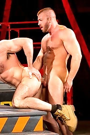 Hunter Marx and Billy Santoro fuck each other